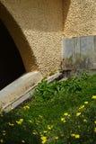 Χαρακτηριστική ogive αψίδα σε έναν καθεδρικό ναό στοκ εικόνα