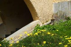 Χαρακτηριστική ogive αψίδα σε έναν καθεδρικό ναό στοκ φωτογραφίες