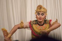 Χαρακτηριστικός από το Μπαλί χορευτής - άτομο Στοκ φωτογραφία με δικαίωμα ελεύθερης χρήσης