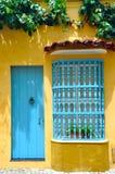 Χαρακτηριστικό αποικιακό σπίτι, Καρχηδόνα, Κολομβία Στοκ εικόνες με δικαίωμα ελεύθερης χρήσης