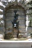 Χαρακτηριστικό γνώρισμα νερού Gargoyle Στοκ Εικόνες