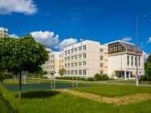 χαρακτηριστικό Γυμνάσιο στη Μόσχα, Ρωσία Στοκ Εικόνες