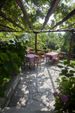 Χαρακτηριστικό ελληνικό taverna Στοκ Φωτογραφίες