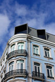 Χαρακτηριστικό κτήριο της Λισσαβώνας Στοκ Φωτογραφία