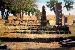 Χαρακτηριστικό παλαιό νεκροταφείο στοκ φωτογραφία