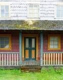 Χαρακτηριστικό σπίτι, νησί Chiloe στοκ εικόνες με δικαίωμα ελεύθερης χρήσης