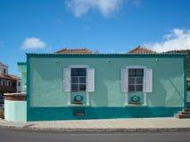 Χαρακτηριστικό σπίτι στο Λα Palma στοκ εικόνα με δικαίωμα ελεύθερης χρήσης