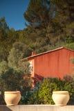 Χαρακτηριστικό σπίτι στο νότο Vars της Γαλλίας Στοκ φωτογραφία με δικαίωμα ελεύθερης χρήσης