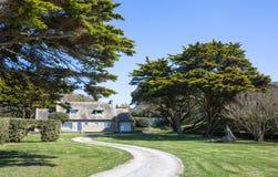 Χαρακτηριστικό σπίτι της Γαλλίας Βρετάνη Στοκ Εικόνες