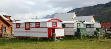 Χαρακτηριστικό σπίτι των Άνδεων στη EL Chalten Στοκ φωτογραφία με δικαίωμα ελεύθερης χρήσης