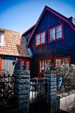 χαρακτηριστικό σπίτι Στοκ φωτογραφίες με δικαίωμα ελεύθερης χρήσης