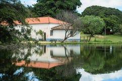 Χαρακτηριστικό τοπίο της επαρχίας της Βραζιλίας στοκ φωτογραφίες