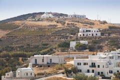 Χαρακτηριστικό χωριό σε Antiparos, Ελλάδα Στοκ Φωτογραφία