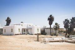 Χαρακτηριστικό guesthouse σε Antiparos, Ελλάδα Στοκ φωτογραφία με δικαίωμα ελεύθερης χρήσης