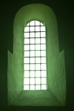 Χαρακτηριστικό Romanesque παράθυρο Στοκ Φωτογραφίες
