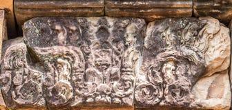 Χαρασμένη αντίκα πέτρα Στοκ φωτογραφία με δικαίωμα ελεύθερης χρήσης