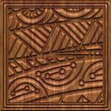 Χαρασμένη ξύλινη άνευ ραφής σύσταση επιτροπής Στοκ εικόνα με δικαίωμα ελεύθερης χρήσης