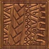 Χαρασμένη ξύλινη άνευ ραφής σύσταση επιτροπής Στοκ Εικόνα