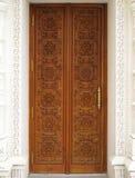 Χαρασμένη πόρτα Στοκ εικόνα με δικαίωμα ελεύθερης χρήσης