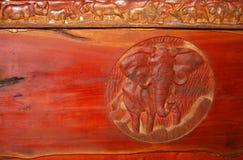 χαρασμένος ελέφαντας στοκ φωτογραφία με δικαίωμα ελεύθερης χρήσης