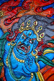 χαρασμένος Θιβετιανός Στοκ εικόνες με δικαίωμα ελεύθερης χρήσης