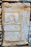 Χαρασμένος στο αμφιθέατρο στην αρχαία πόλη Patara Lycian Τουρκία Στοκ εικόνες με δικαίωμα ελεύθερης χρήσης