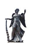 Χαρασμένο και ευρωπαϊκό ύφος φυλάκων αγγέλου αγαλμάτων γλυπτών Στοκ φωτογραφίες με δικαίωμα ελεύθερης χρήσης
