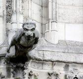 Χαρασμένο Gargoyle Στοκ Εικόνες