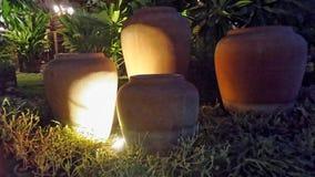 Χαρασμένο Woodrn φως λαμπτήρων στο ανώτατο όριο Στοκ Φωτογραφία