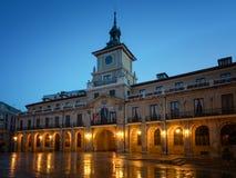 Χαραυγή σε Οβηέδο, Ισπανία στοκ εικόνες με δικαίωμα ελεύθερης χρήσης