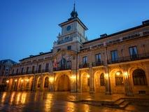 Χαραυγή σε Οβηέδο, Ισπανία στοκ εικόνα με δικαίωμα ελεύθερης χρήσης
