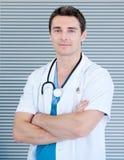 χαρισματικός γιατρός φωτ&omi στοκ εικόνες με δικαίωμα ελεύθερης χρήσης