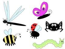 χαριτωμένα έντομα Στοκ φωτογραφίες με δικαίωμα ελεύθερης χρήσης