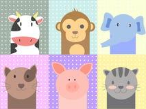 Χαριτωμένα ζώα Στοκ εικόνα με δικαίωμα ελεύθερης χρήσης