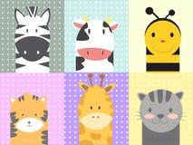 Χαριτωμένα ζώα Στοκ Εικόνες