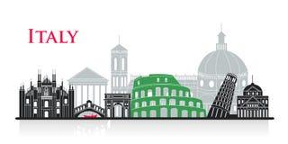 Χαριτωμένα κινούμενα σχέδια Ιταλία διανυσματική απεικόνιση