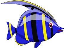 Χαριτωμένα κινούμενα σχέδια ψαριών απεικόνιση αποθεμάτων