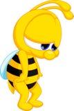 Χαριτωμένα κινούμενα σχέδια μελισσών Στοκ εικόνα με δικαίωμα ελεύθερης χρήσης