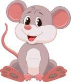 Χαριτωμένα κινούμενα σχέδια ποντικιών Στοκ Φωτογραφία