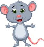 Χαριτωμένα κινούμενα σχέδια ποντικιών Στοκ Εικόνα