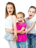 χαριτωμένα κορίτσια λίγα στοκ φωτογραφία με δικαίωμα ελεύθερης χρήσης