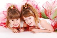 χαριτωμένα κορίτσια Στοκ φωτογραφία με δικαίωμα ελεύθερης χρήσης