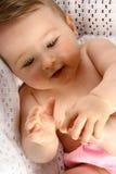 χαριτωμένα μικρά toe διασκέδα& στοκ εικόνα με δικαίωμα ελεύθερης χρήσης