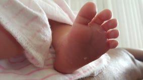 Χαριτωμένα νεογέννητα πόδια μωρών στοκ φωτογραφίες με δικαίωμα ελεύθερης χρήσης