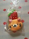 Χαριτωμένα φανταχτερά μπισκότα ζάχαρης Στοκ φωτογραφία με δικαίωμα ελεύθερης χρήσης