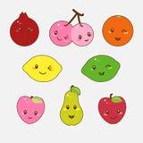 Χαριτωμένα φρούτα. Στοκ φωτογραφία με δικαίωμα ελεύθερης χρήσης