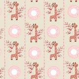 χαριτωμένα giraffes απεικόνιση αποθεμάτων