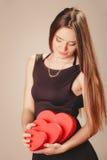 χαριτωμένες καρδιές κορ&iota Στοκ φωτογραφία με δικαίωμα ελεύθερης χρήσης