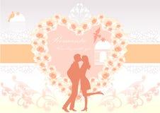 Χαριτωμένη αγάπη ελεύθερη απεικόνιση δικαιώματος