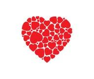 Χαριτωμένη απεικόνιση σχεδίου αγάπης απεικόνιση αποθεμάτων